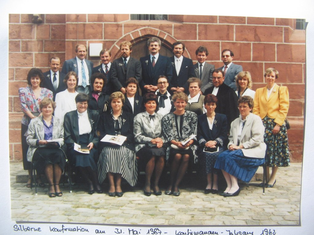 Silberne Konfirmation 1987