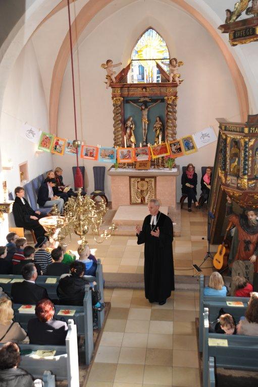 Gottesdienst in der St. Matthäus-Kirche zur Einweihung der Kinderkrippe
