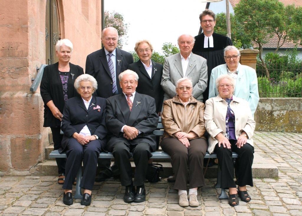 Gnaden- und Eiserne Konfirmation 2015