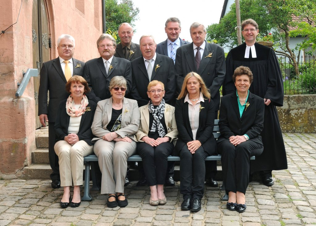 Goldene Konfirmation 2014