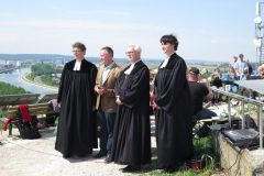 Gottesdienst zu Christi Himmelfahrt auf dem Solarberg 2018