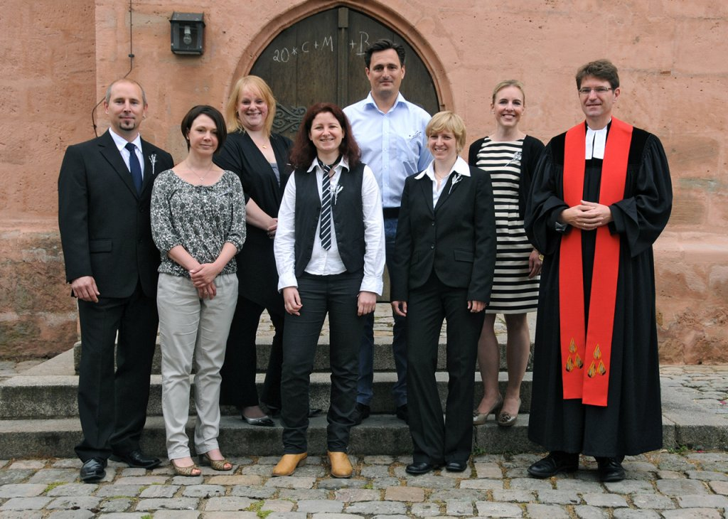 Silberne Konfirmation 2014