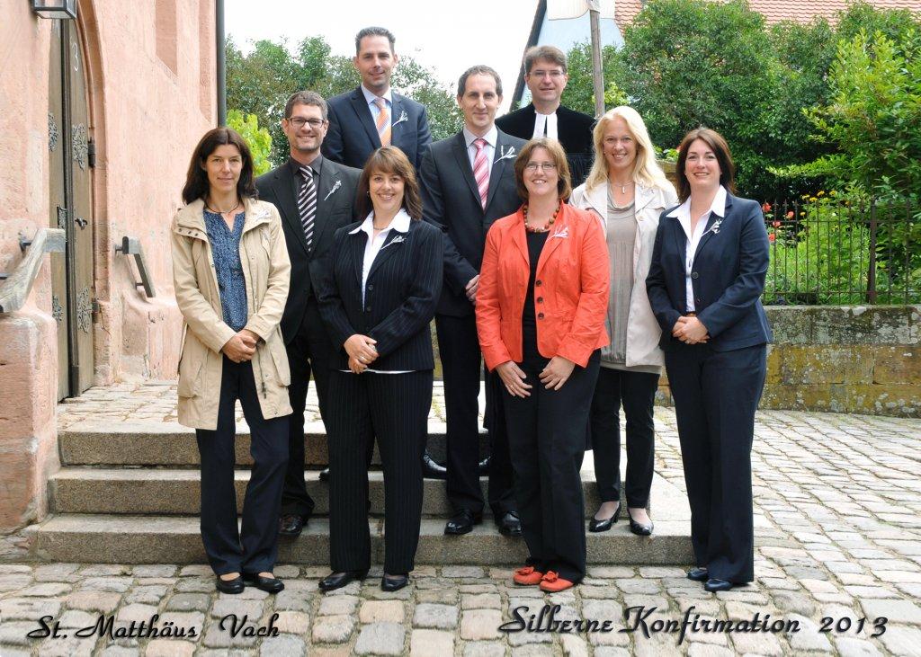 Silberne Konfirmation 2013