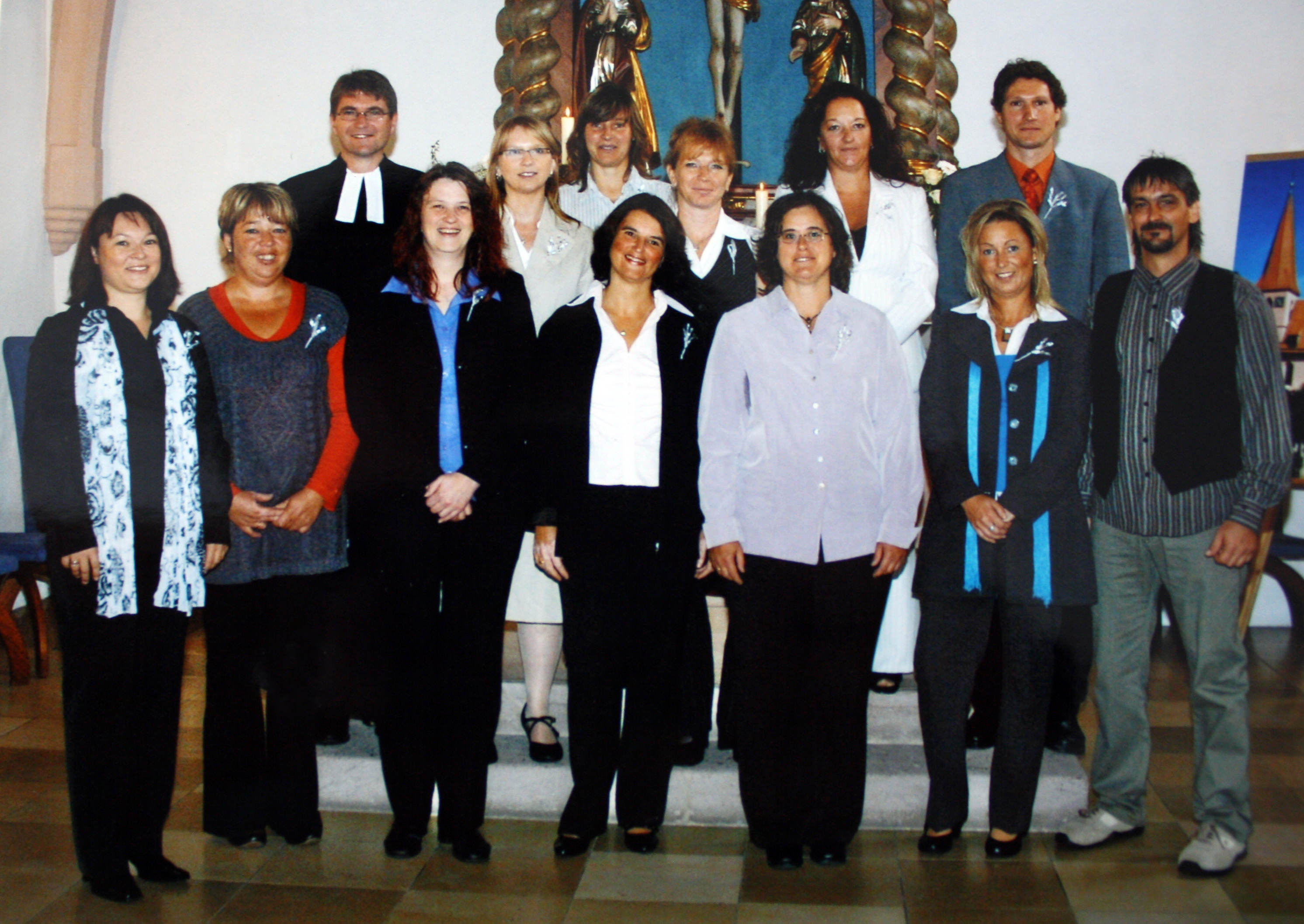 Silberne Konfirmation 2009