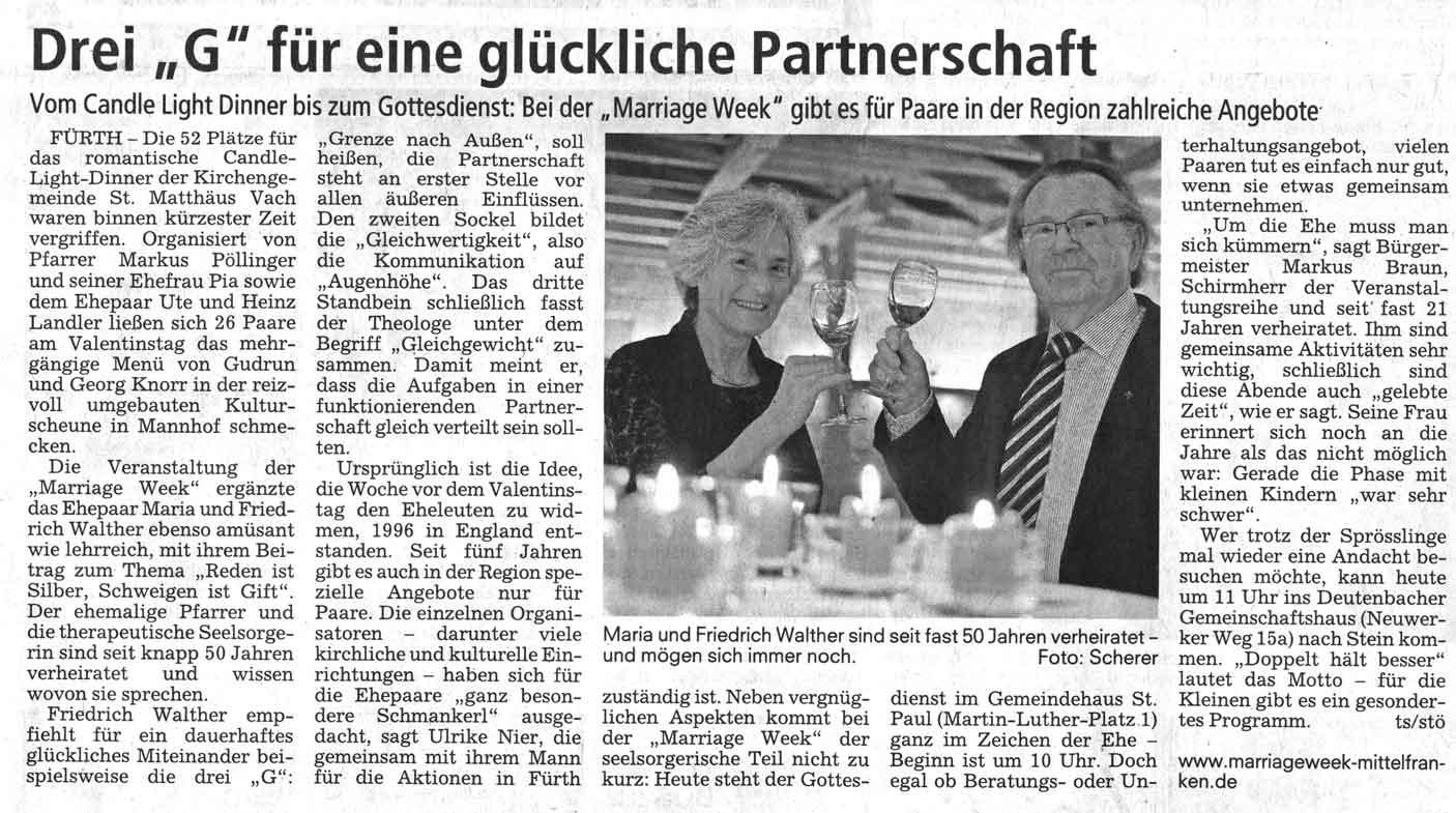 Candlelight-Dinner Sonntagsblitz 2014-02-16