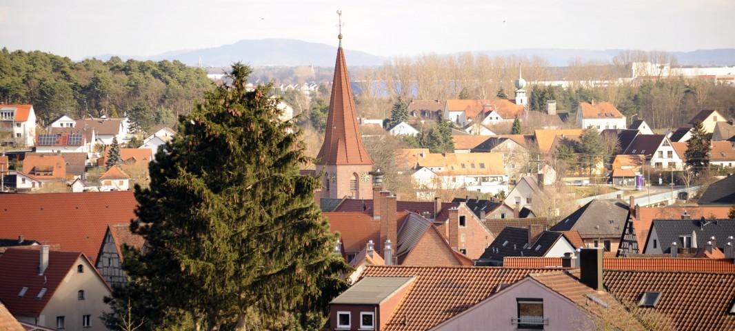 St. Matthäus Vach Kanalblick