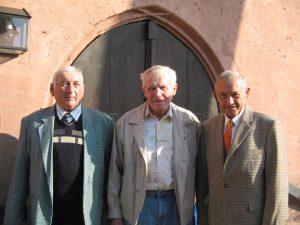 """Die """"Vacher Domsänger"""" Hans Berthold, Paul Heinz und Karl Reiß"""