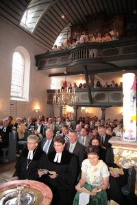 Festgottesdienst zum 950. Jubiläum der St. Matthäus Kirche Vach