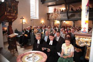 2009: Festgottesdienst zum 950. Jubiläum der St. Matthäus-Kirche Vach