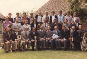 1981: Posaunenchor St. Matthäus Vach