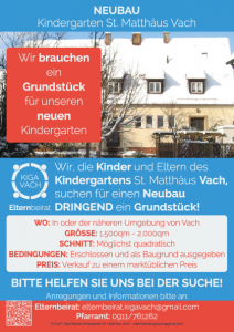 EB KiGa Vach Flyer Neubau