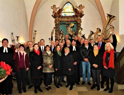 Einführung des Kirchenvorstandes & Bläserehrung am 1.Adventssonntag 2.12.2018 um 9.30 Uhr