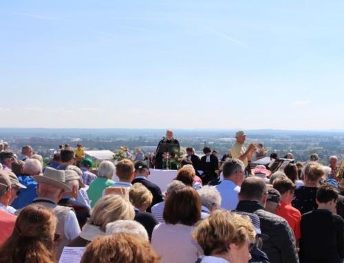 Himmelfahrtsgottesdienst auf dem Fürther Solarberg am 21.5.2020 um 10 Uhr und Vachmarkt um 14 Uhr