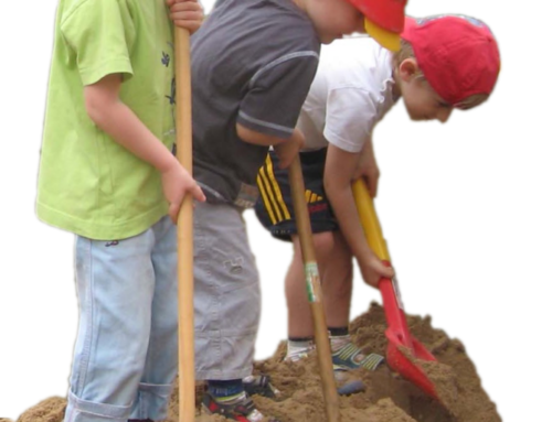 Spatenstich neuer Kindergarten in Bildern