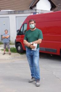 Baumeister Raab von de Fa. Moezer