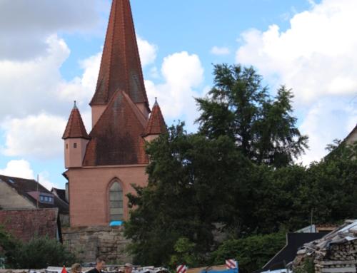 Kirche Kunterbunt open air bei Traumwetter